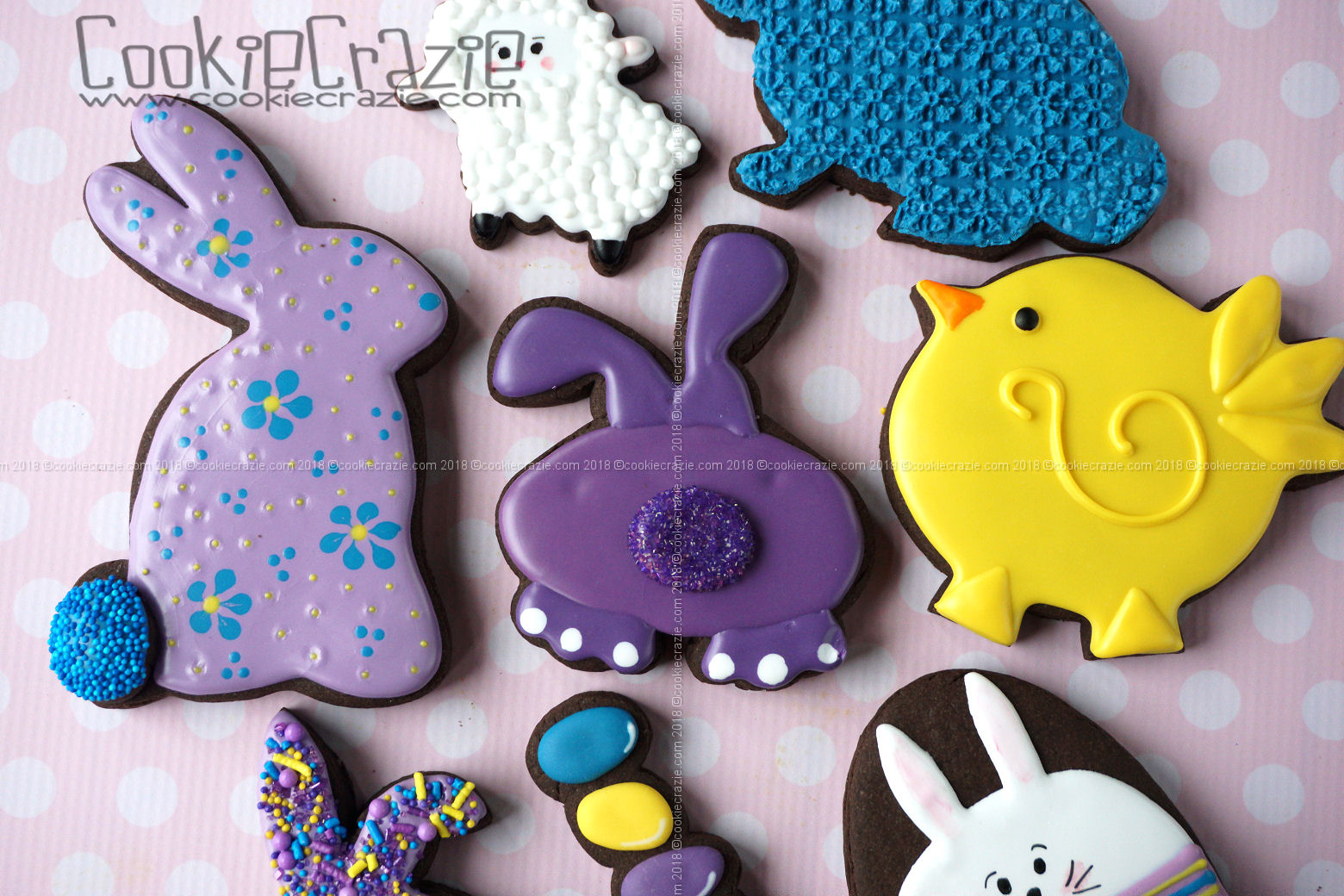 Bunny Bum Decorated Sugar Cookie YouTube video  HERE  Bunny cutter found  HERE