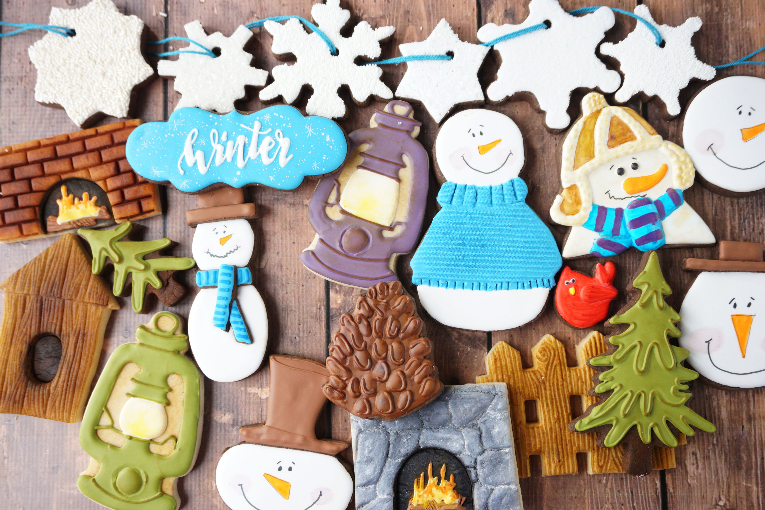 Winter 2018 Decorated Cookie Collection