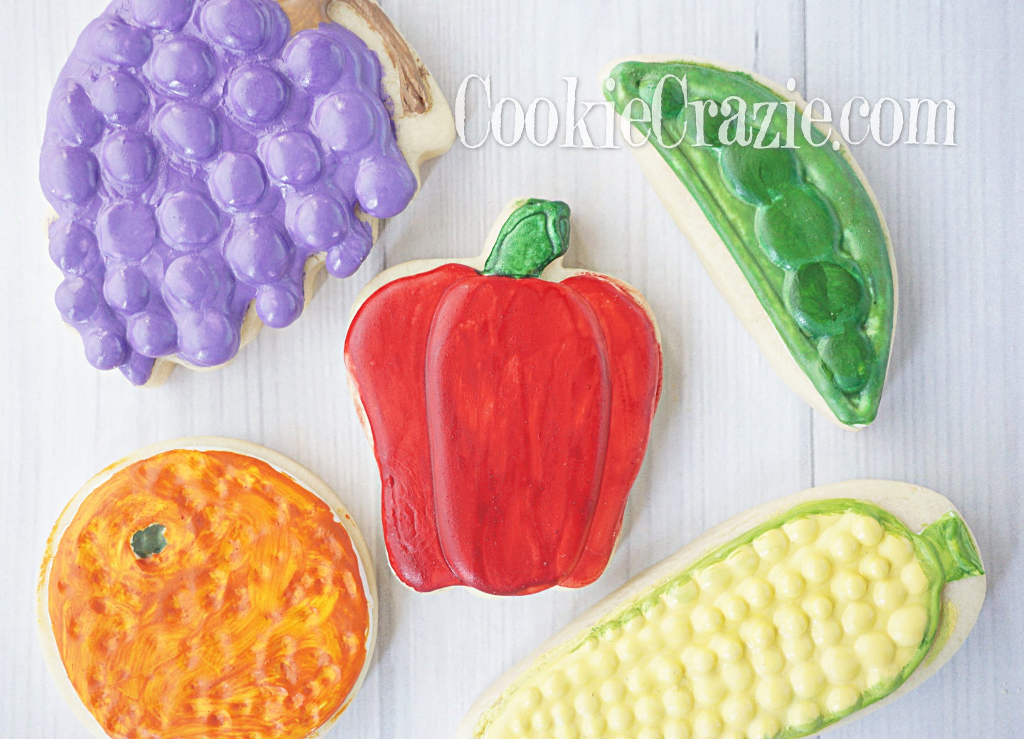 Bell Pepper Decorated Sugar Cookie YouTube vide  HERE