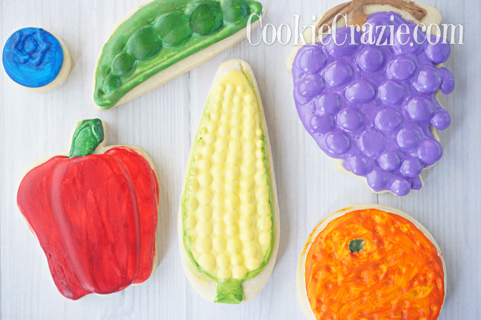 Corn Decorated Sugar Cookie YouTube video  HERE