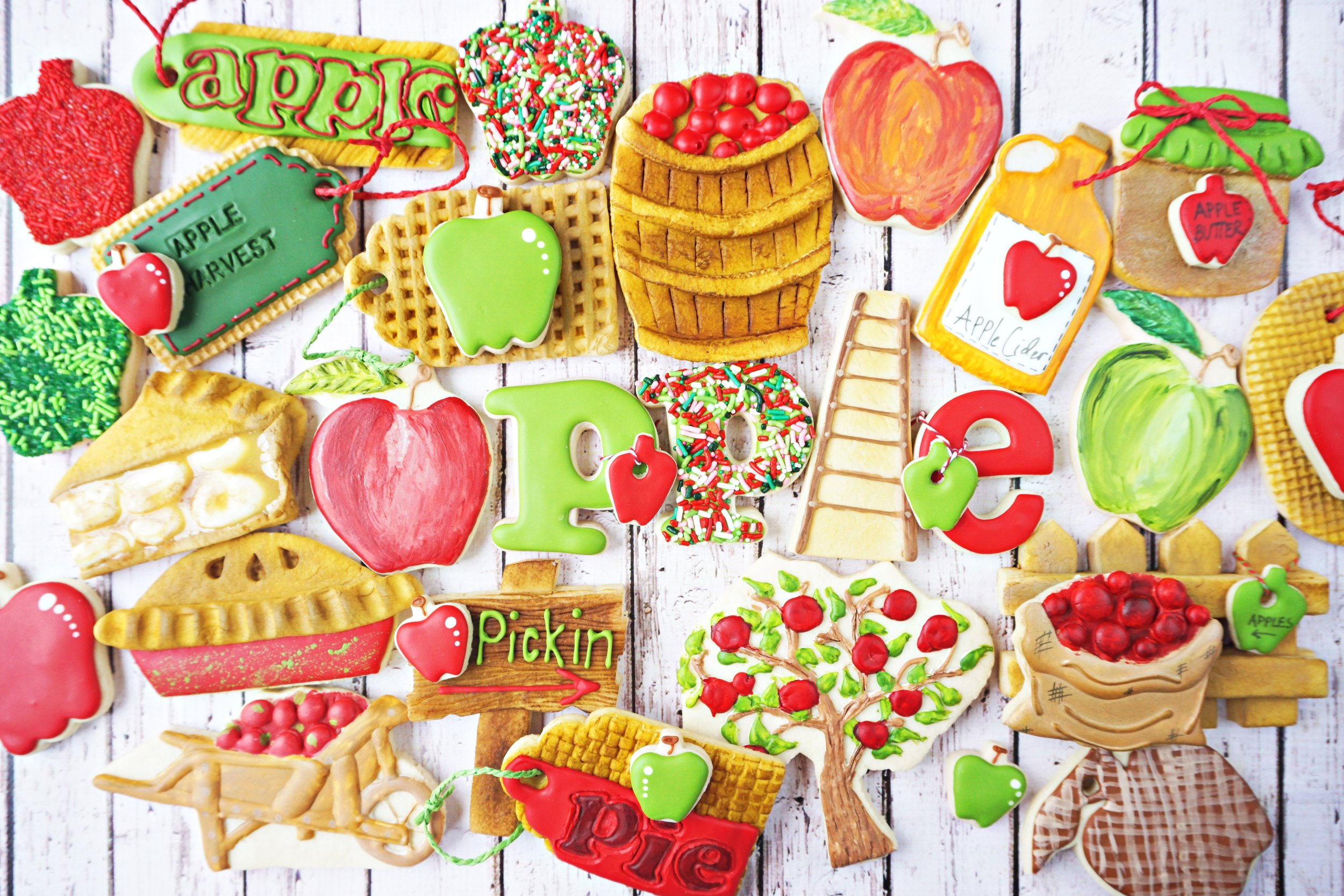 Applicious Decorated Cookie Collection