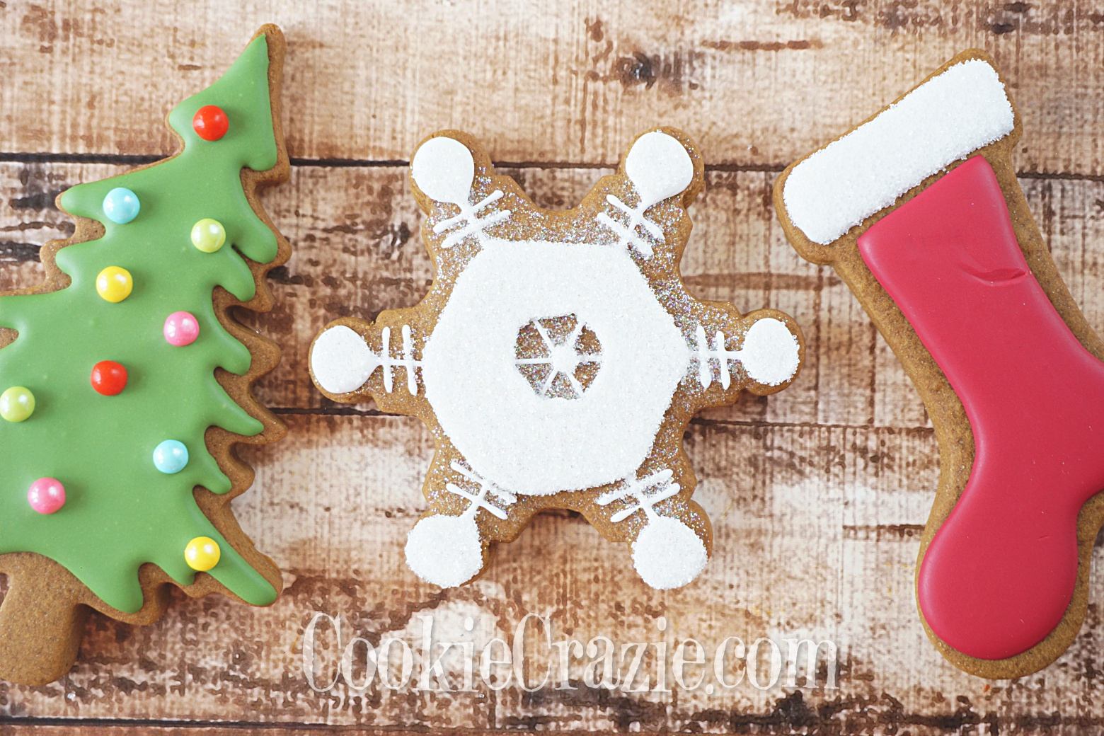 Snowflake Decorated Sugar Cookie YouTube video  HERE