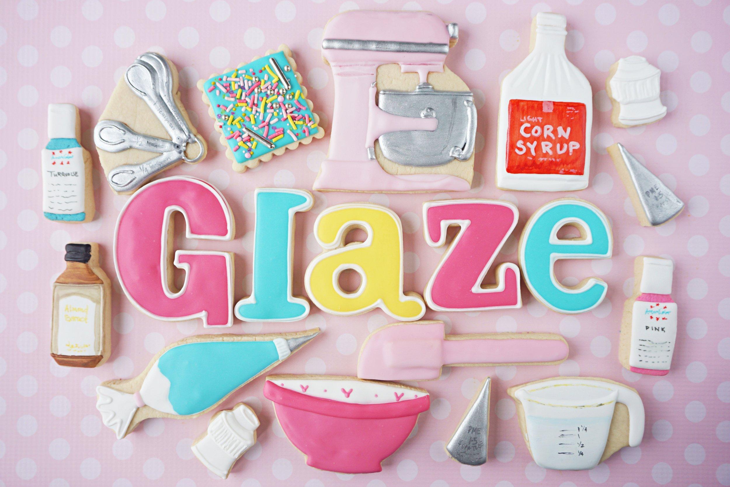 CookieCrazie Glaze Icing Recipe