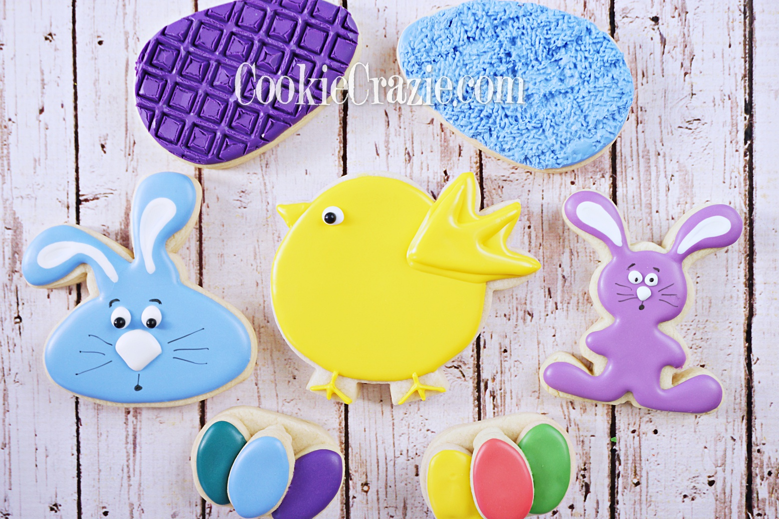 Easter Chick Decorated Sugar Cookie YouTube video  HERE