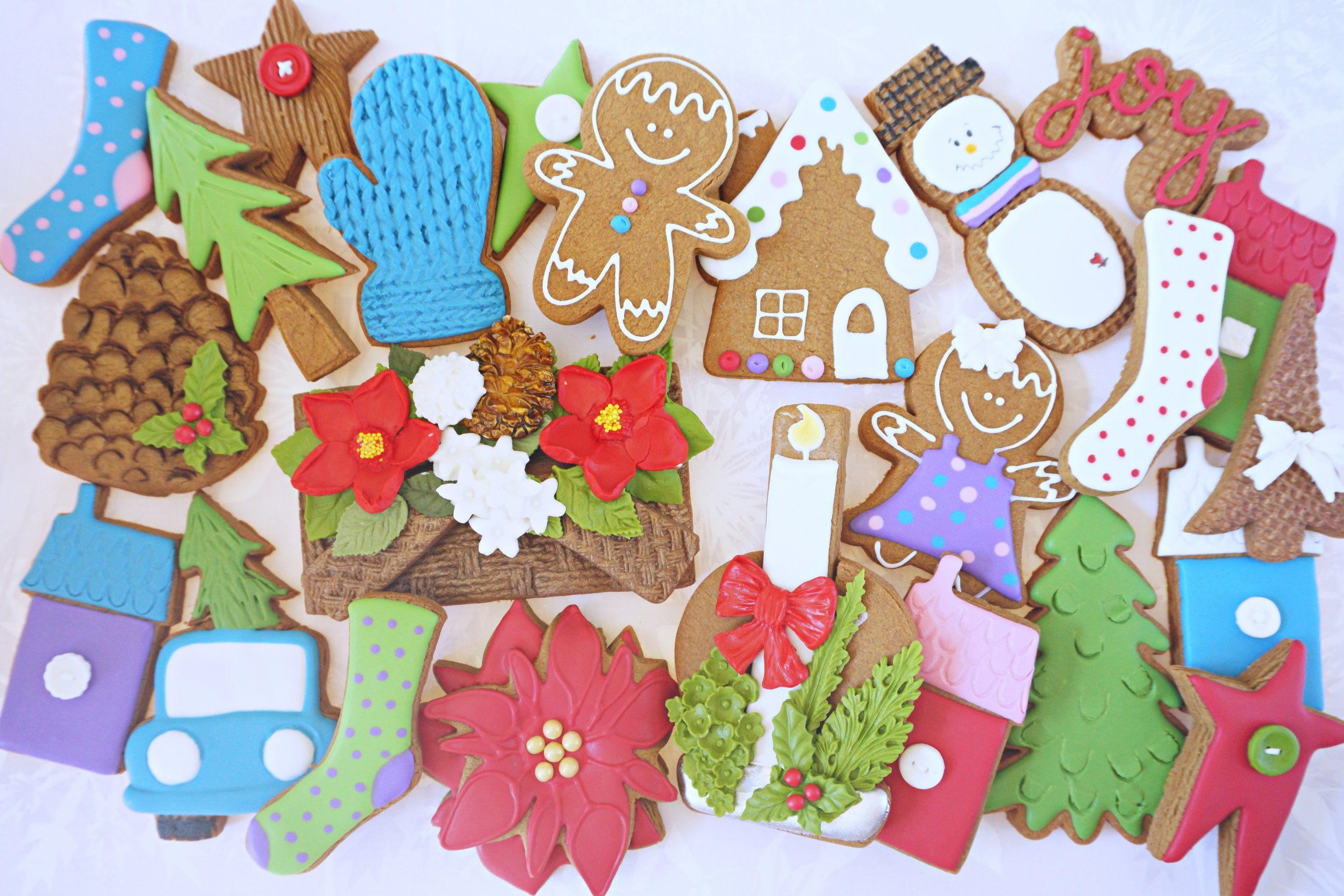Christmas Joy Decorated Cookie Collection