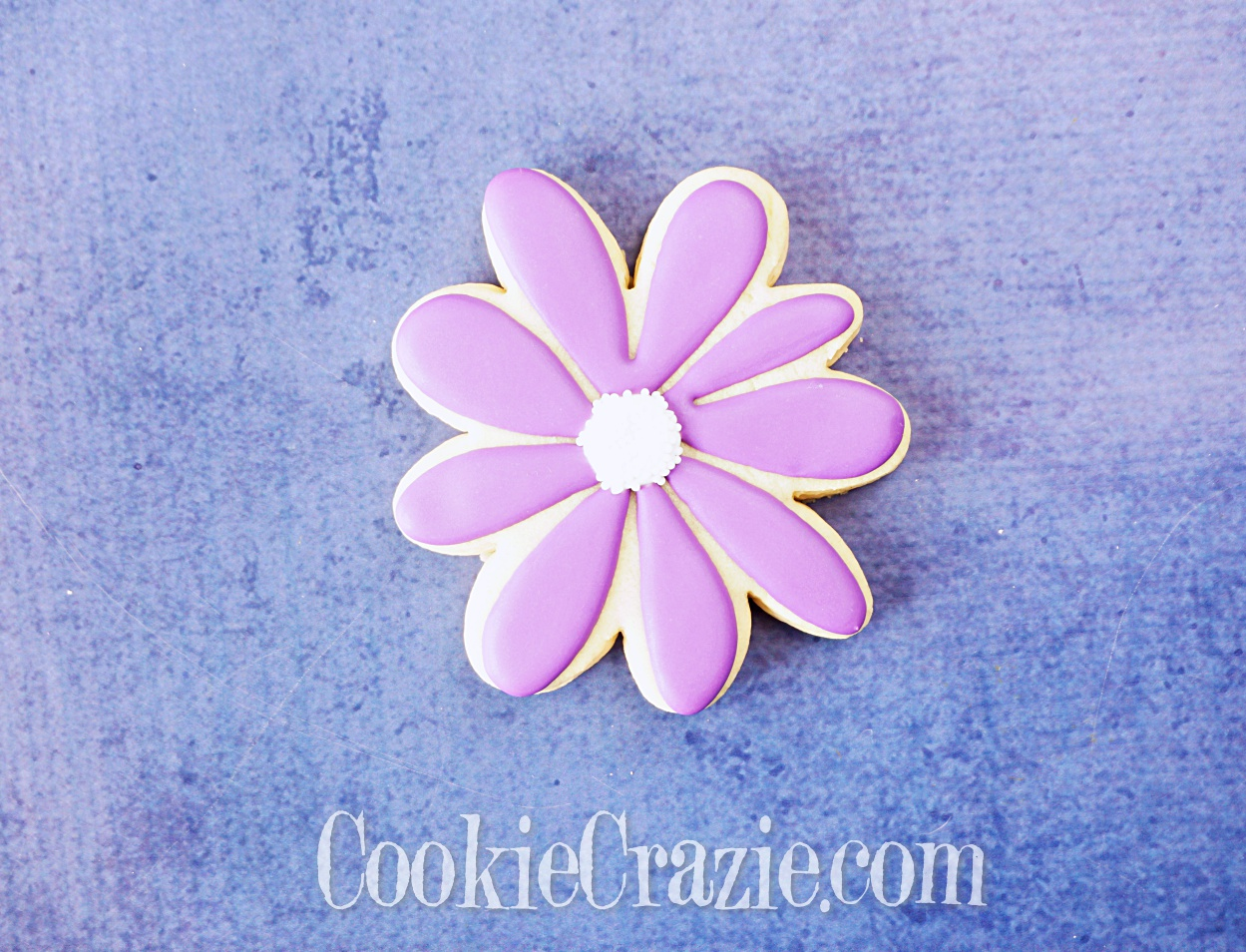 Flower Decorated Sugar Cookie YouTube video  HERE
