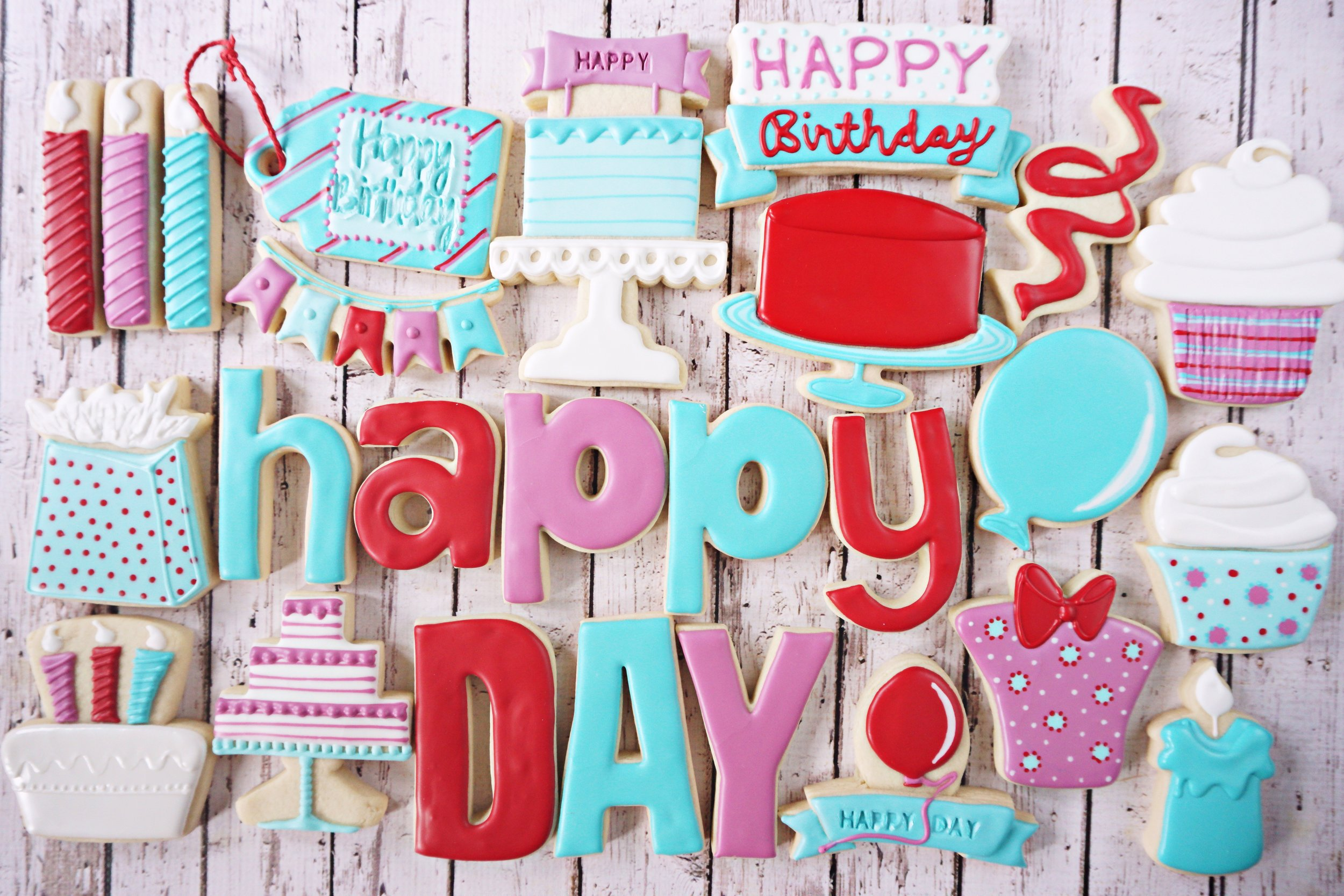 Happy Day Decorated Cookie Collection