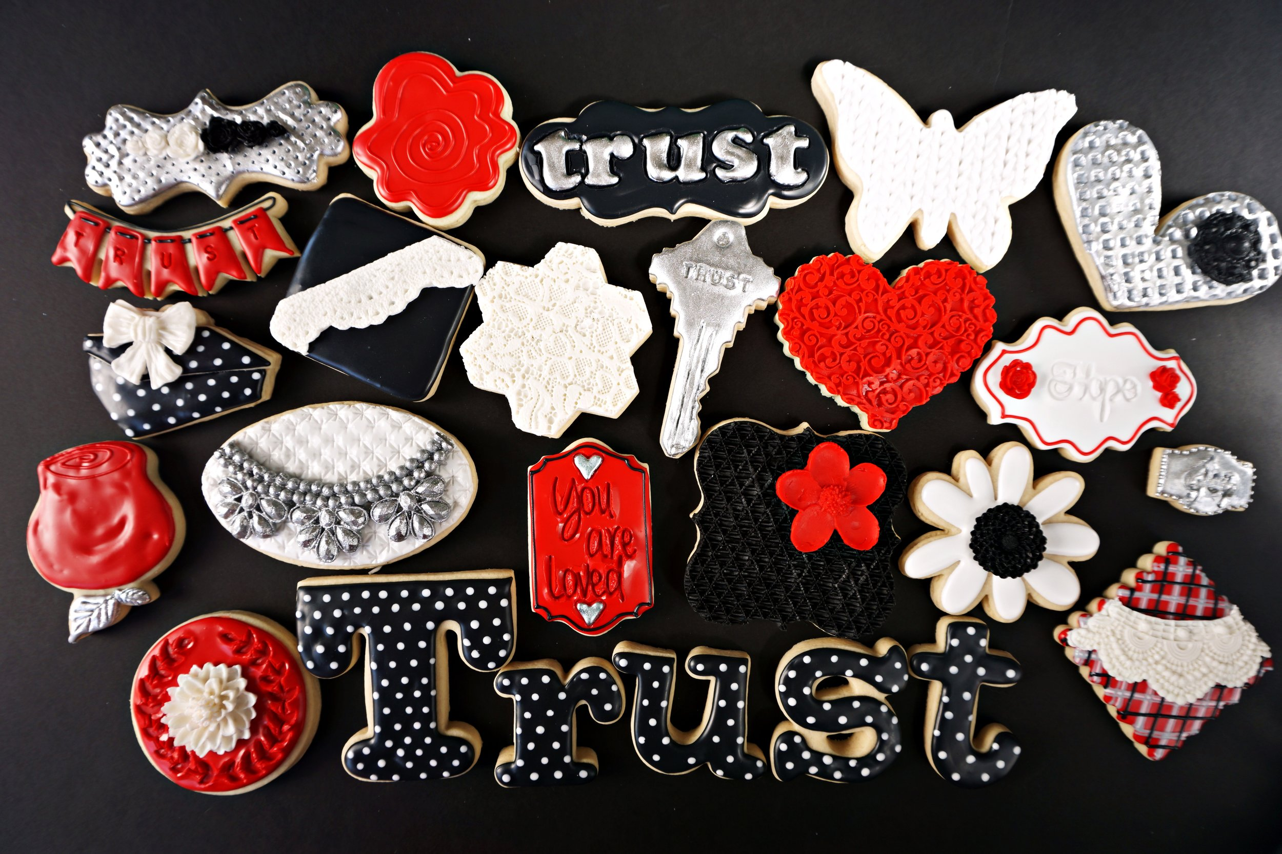 Trust Decorated Cookie Collection