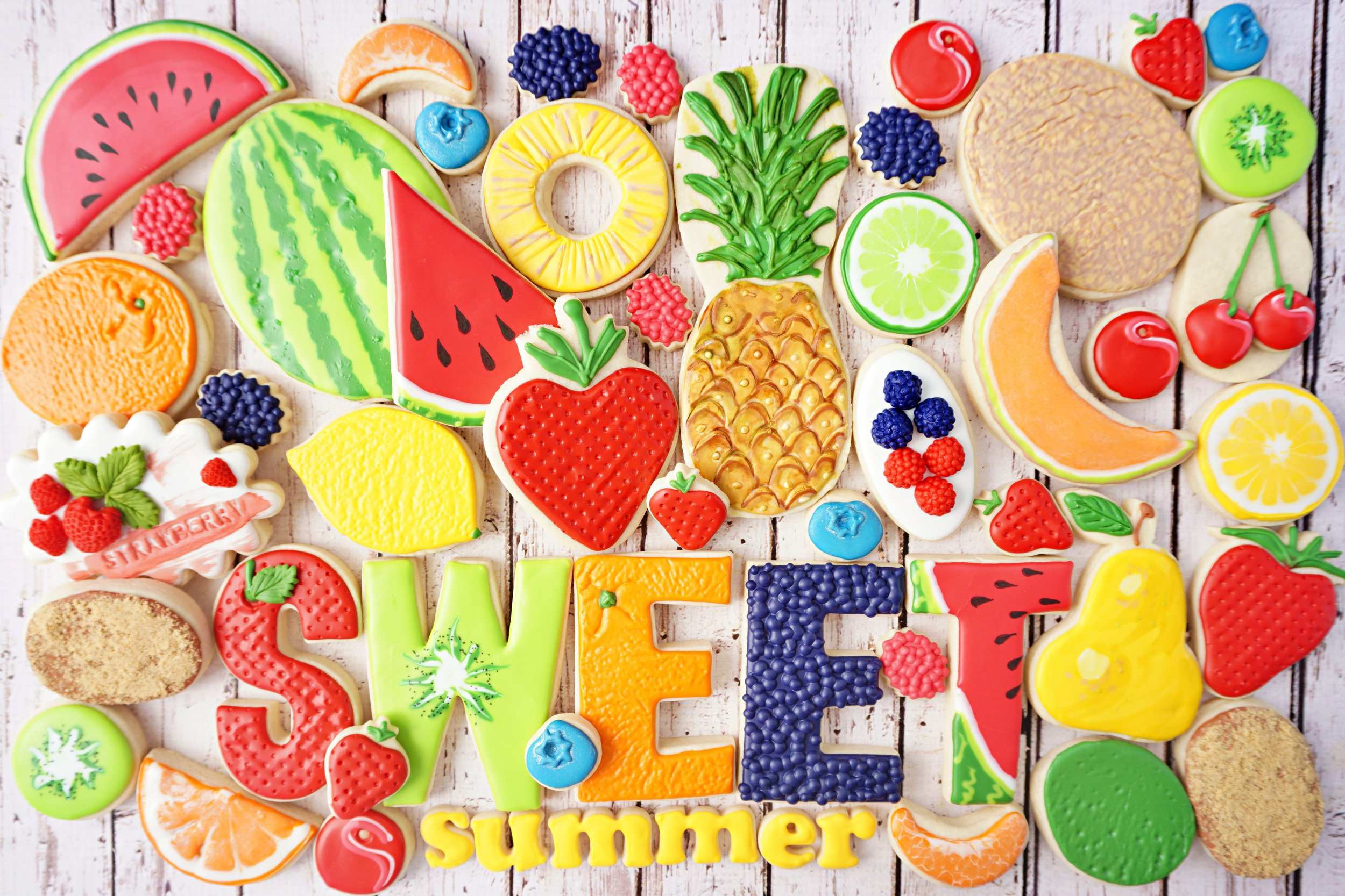 Sweet Summer Decorated Cookie Collection
