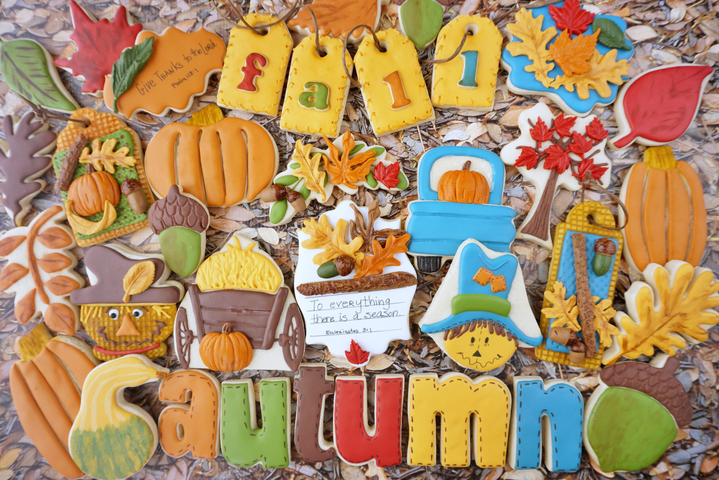 Autumn Decorated Cookie Collection 2019