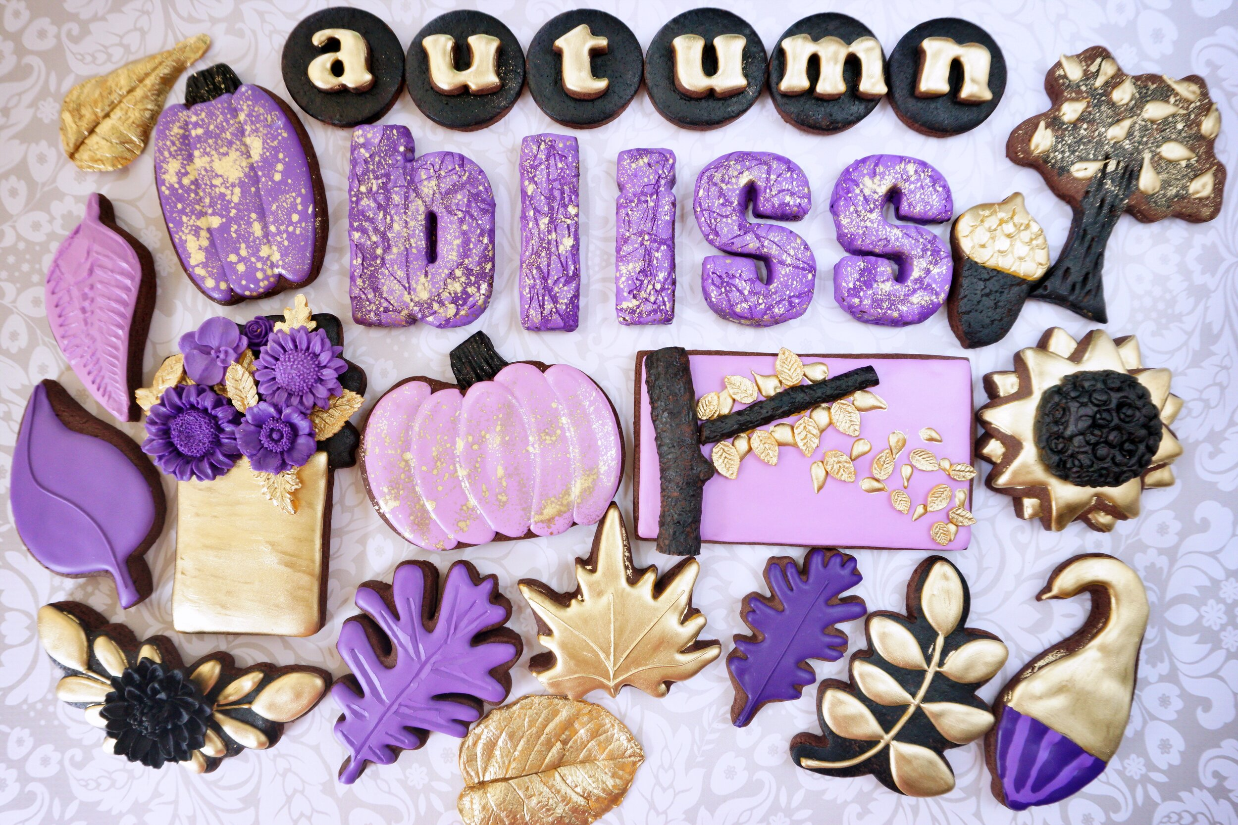 Autumn Bliss Decorated Cookie Collection