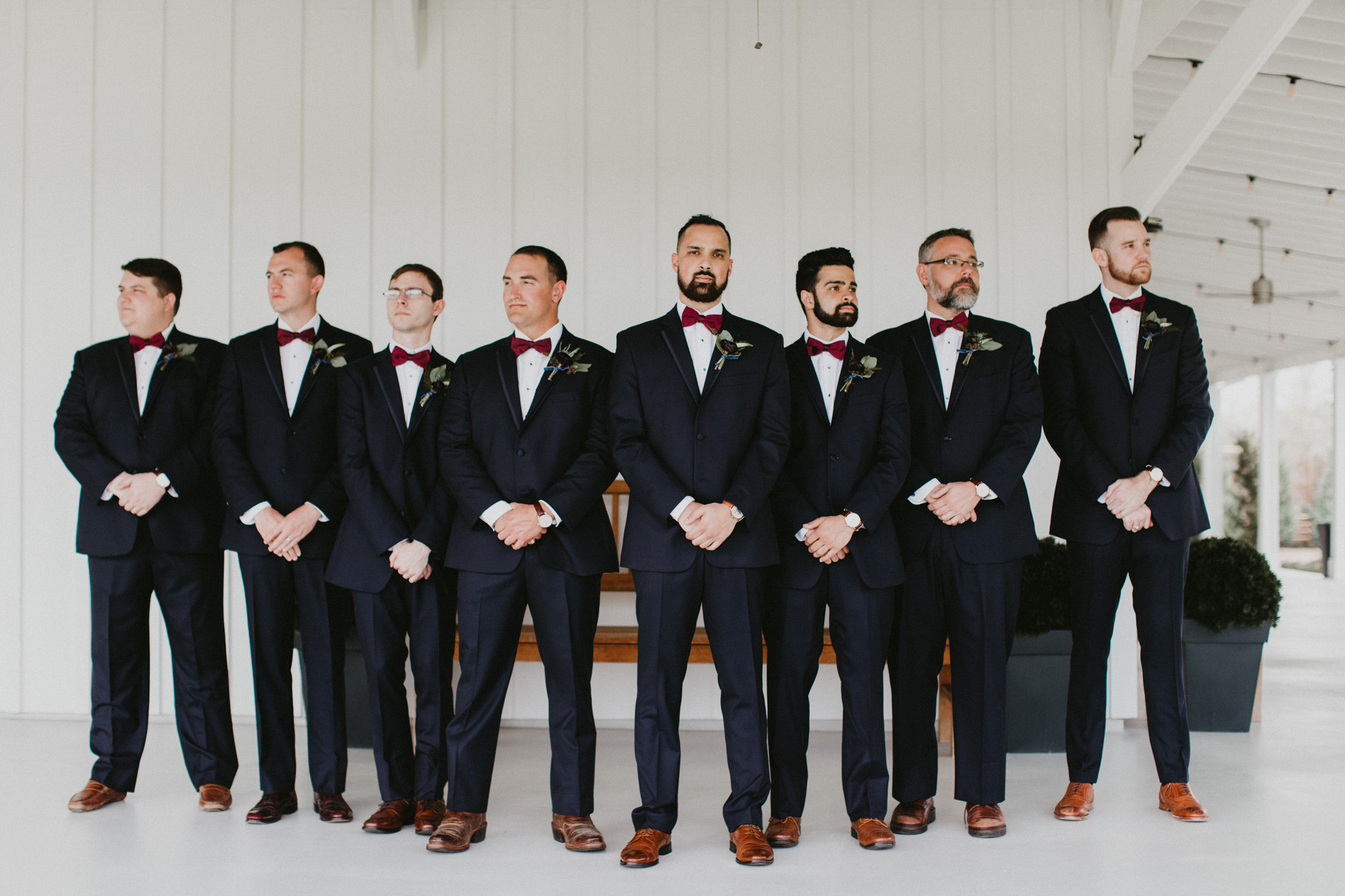 Burgundy Farmhouse Wedding, Century Tree Productions-25.jpg