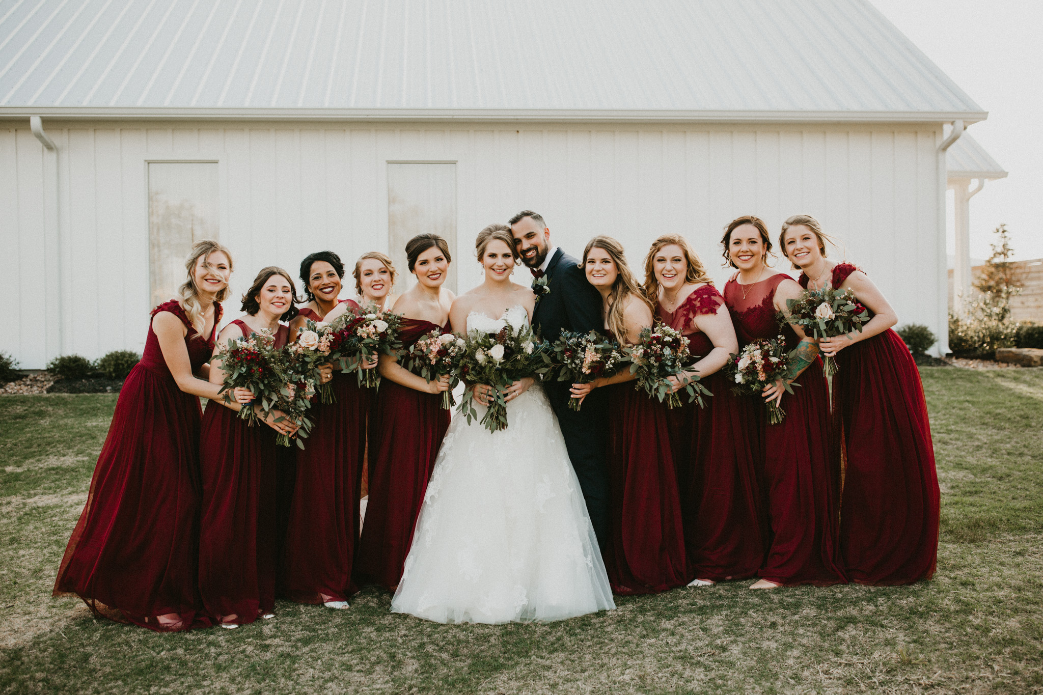 Burgundy Farmhouse Wedding, Century Tree Productions-41.jpg