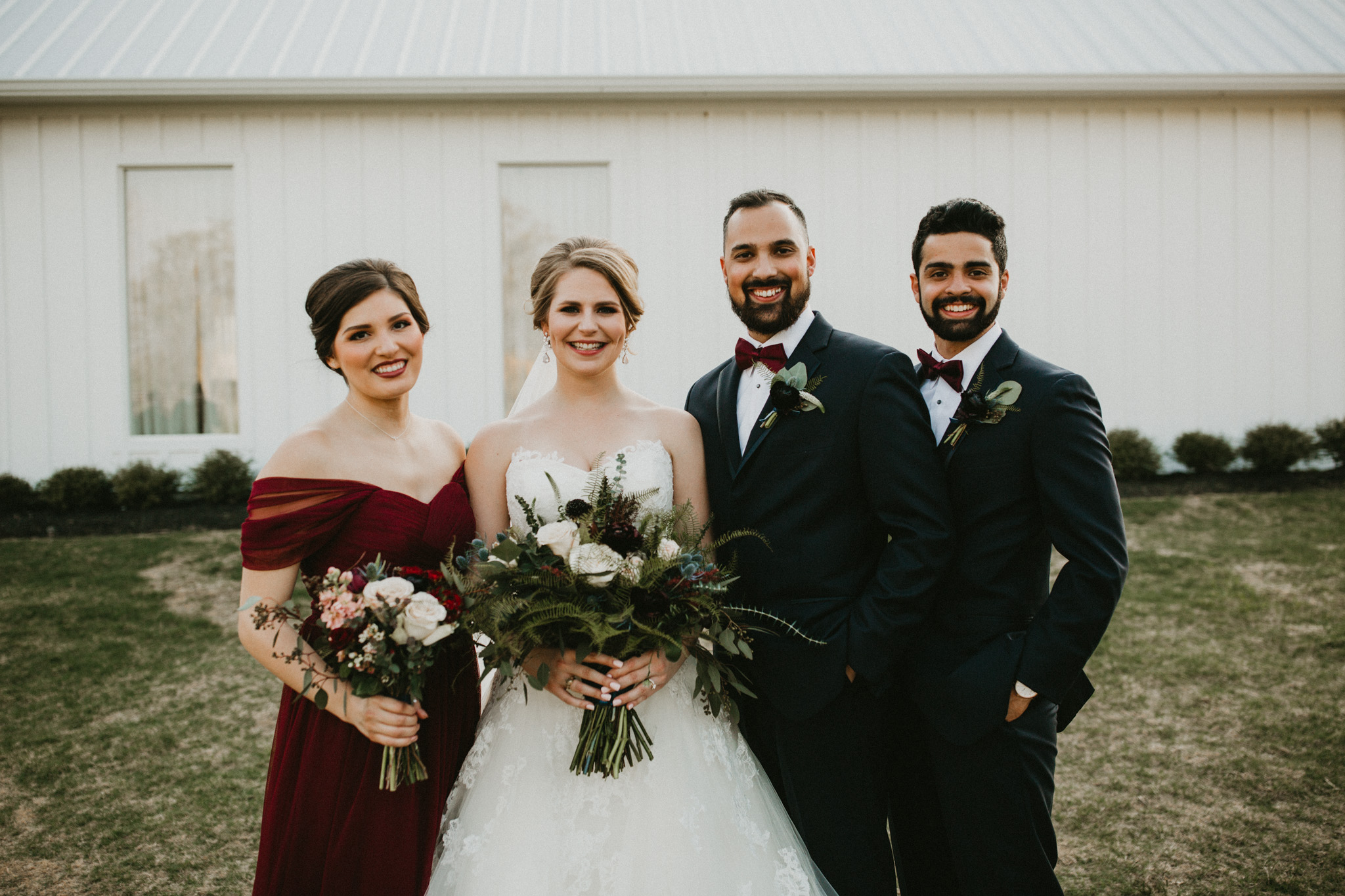 Burgundy Farmhouse Wedding, Century Tree Productions-43.jpg