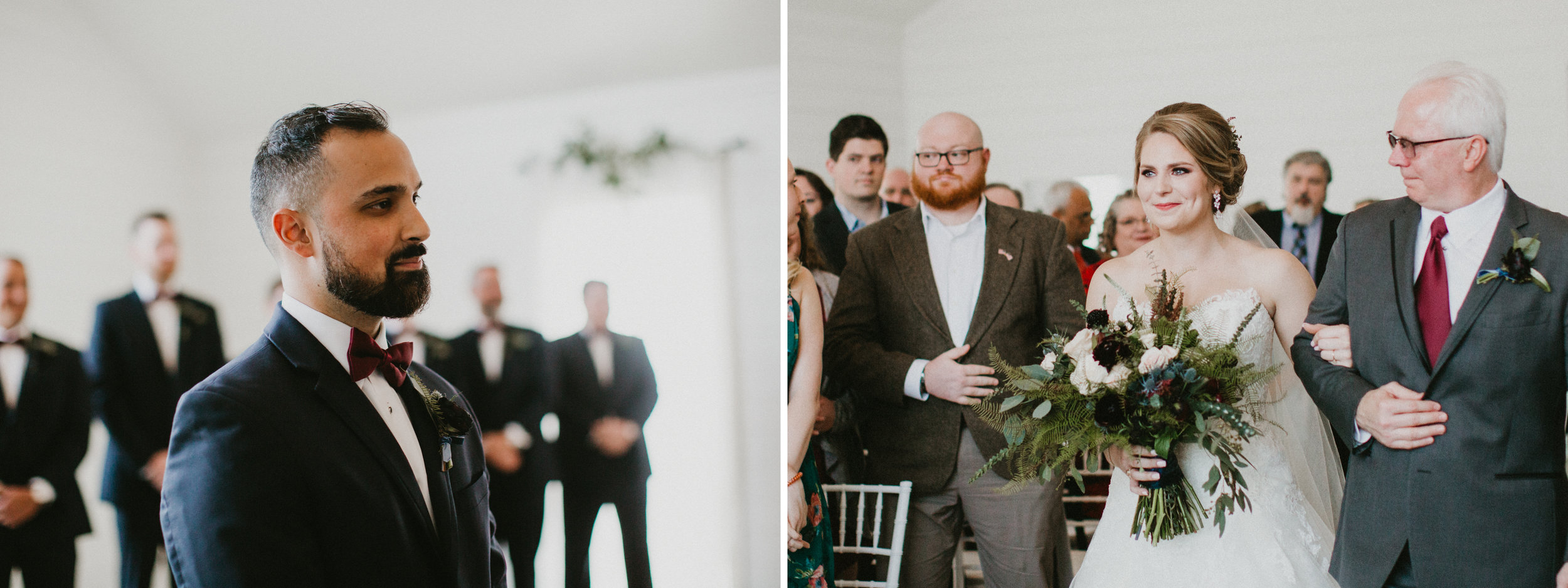 The Farmhouse Ceremony Walking down the aisle.jpg