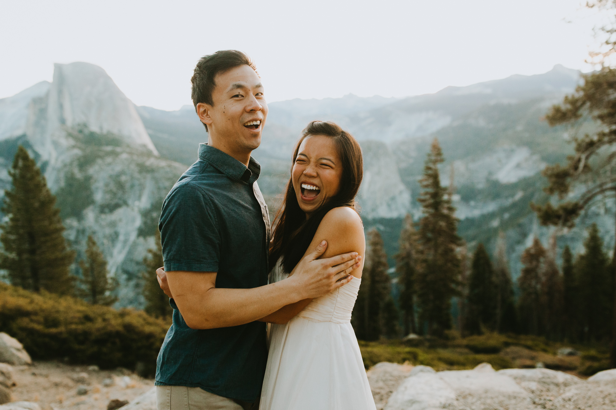 Sunrise at Glacier Point Yosemite Engagement Session-2.jpg