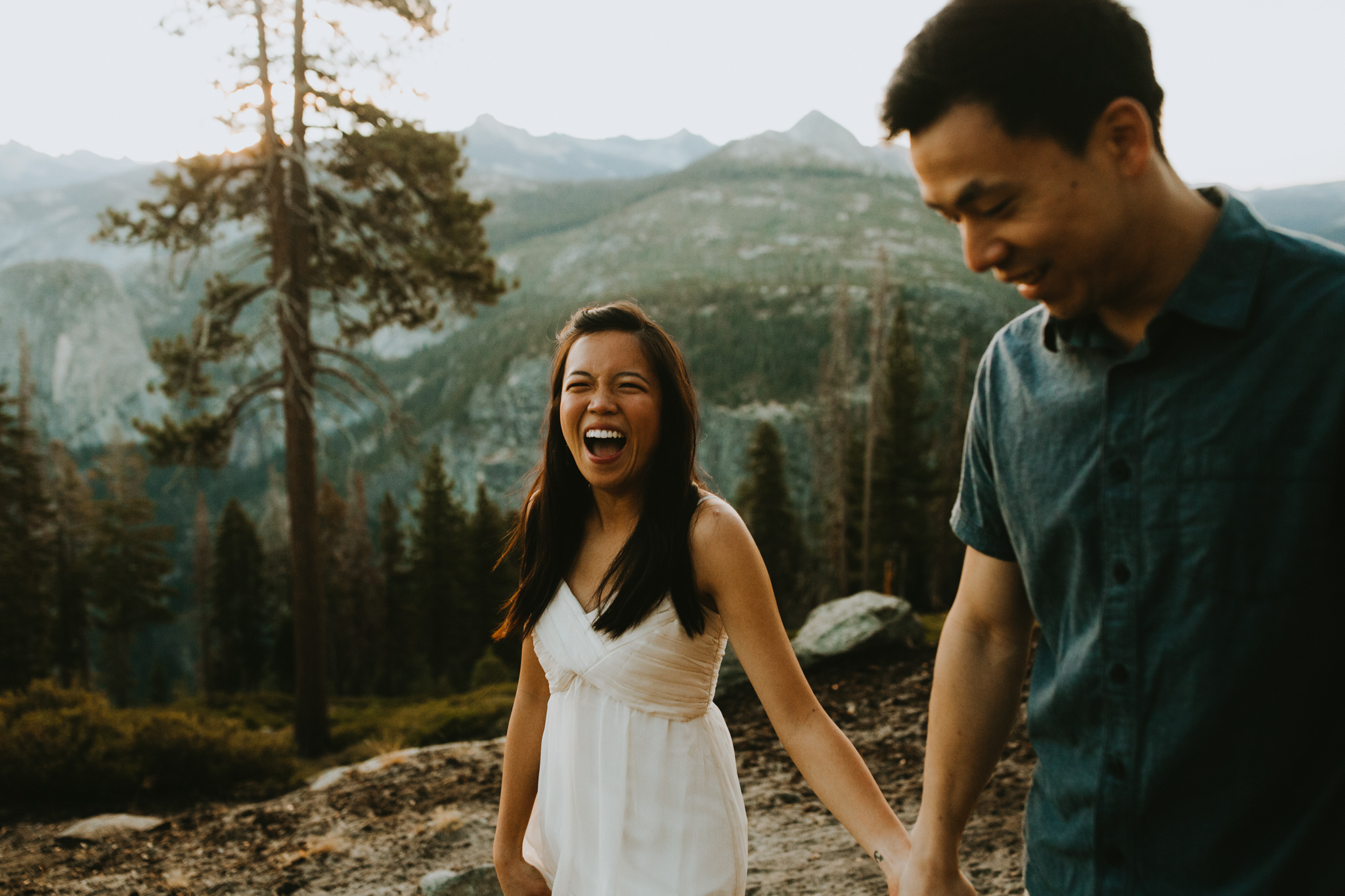 Sunrise at Glacier Point Yosemite Engagement Session-6.jpg