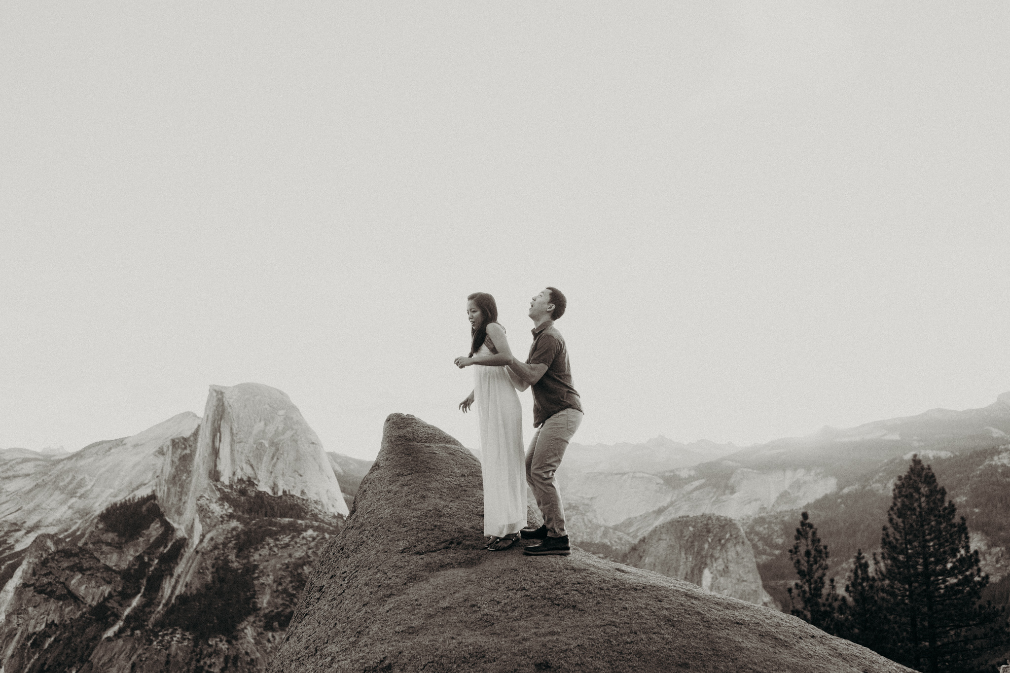 Sunrise at Glacier Point Yosemite Engagement Session-11.jpg