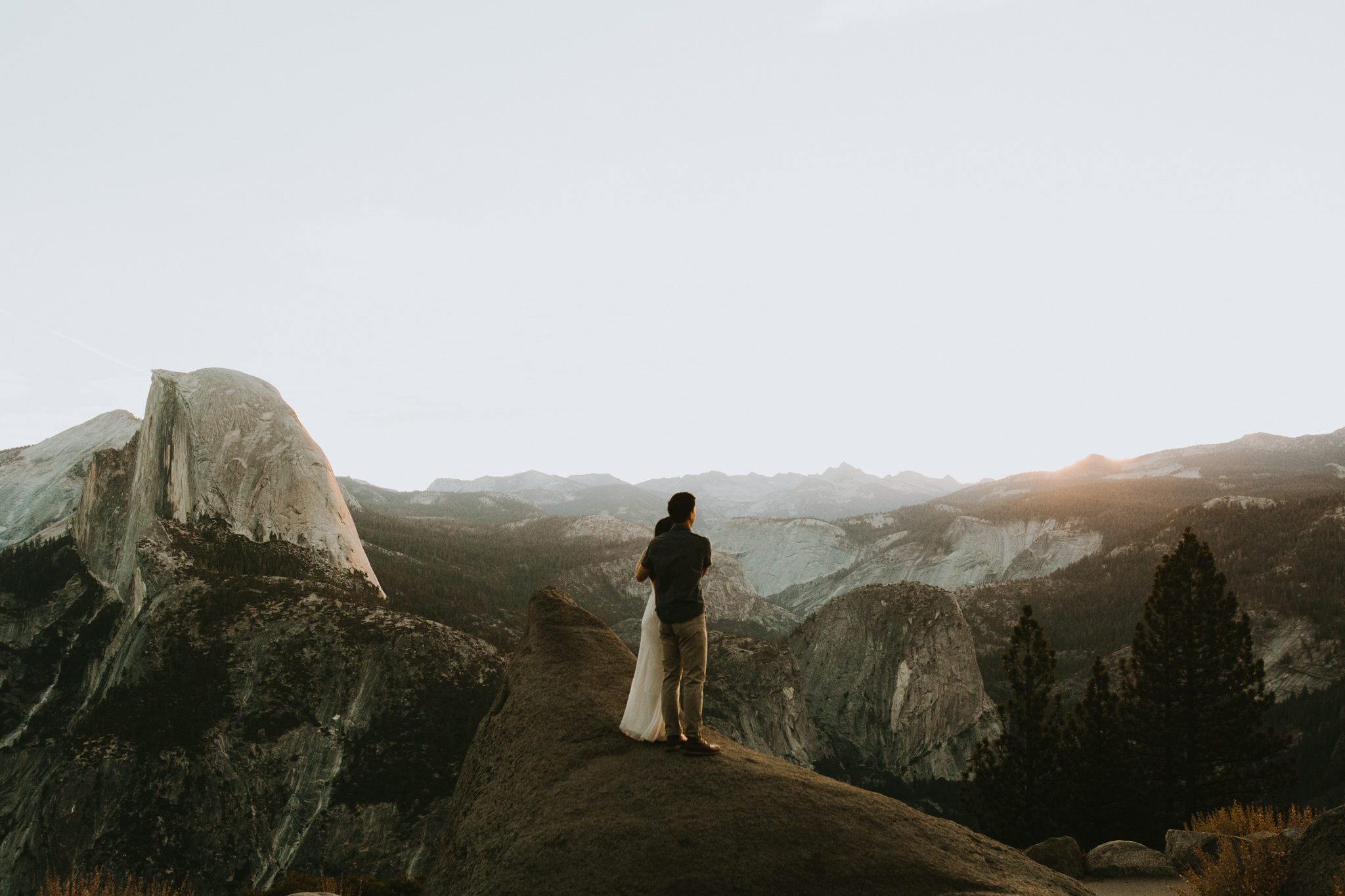 Sunrise at Glacier Point Yosemite Engagement Session-13.jpg