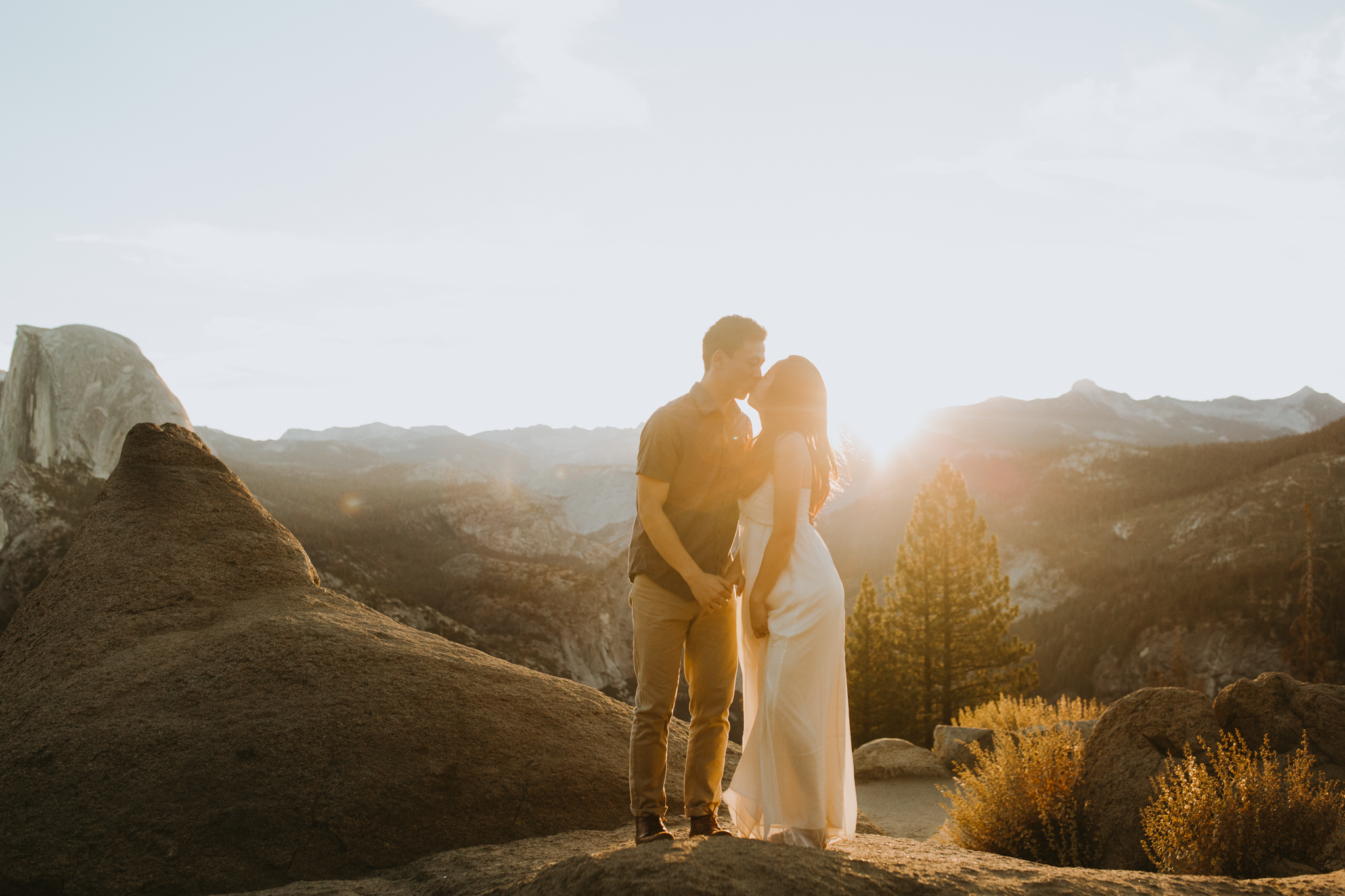 Sunrise at Glacier Point Yosemite Engagement Session-22.jpg
