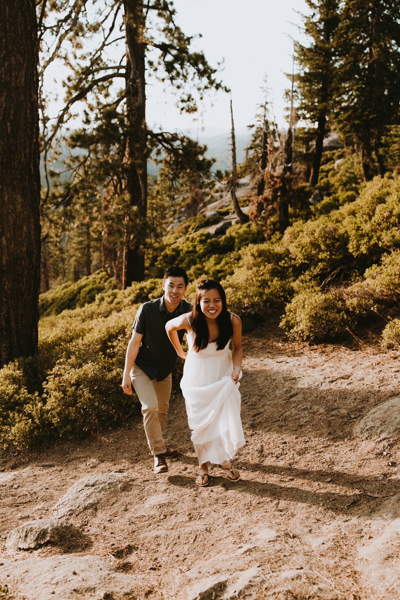 Sunrise at Glacier Point Yosemite Engagement Session-38.jpg