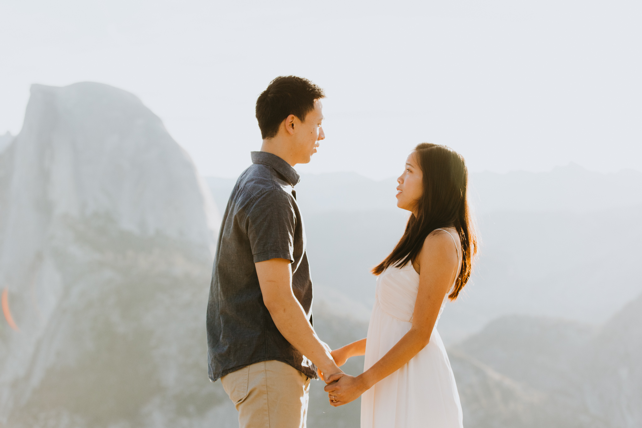 Sunrise at Glacier Point Yosemite Engagement Session-48.jpg
