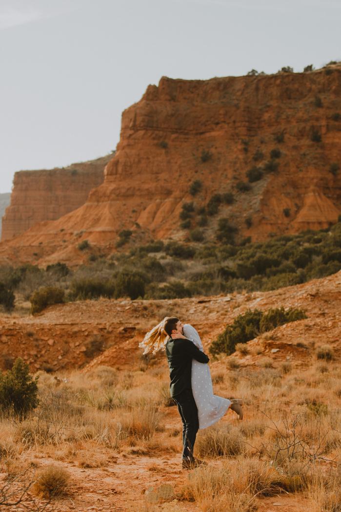 Century Tree Co. Caprock Canyon Engagement Session. Desert engagement-22.jpg