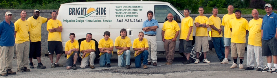 George and Team of landscaping professionals