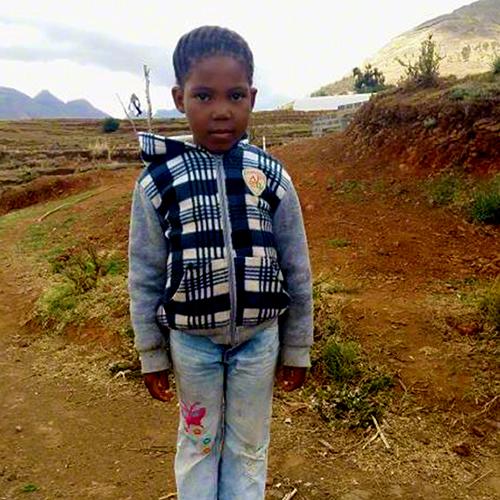 Mapikoko Siphooa - 8 years old / Lesotho