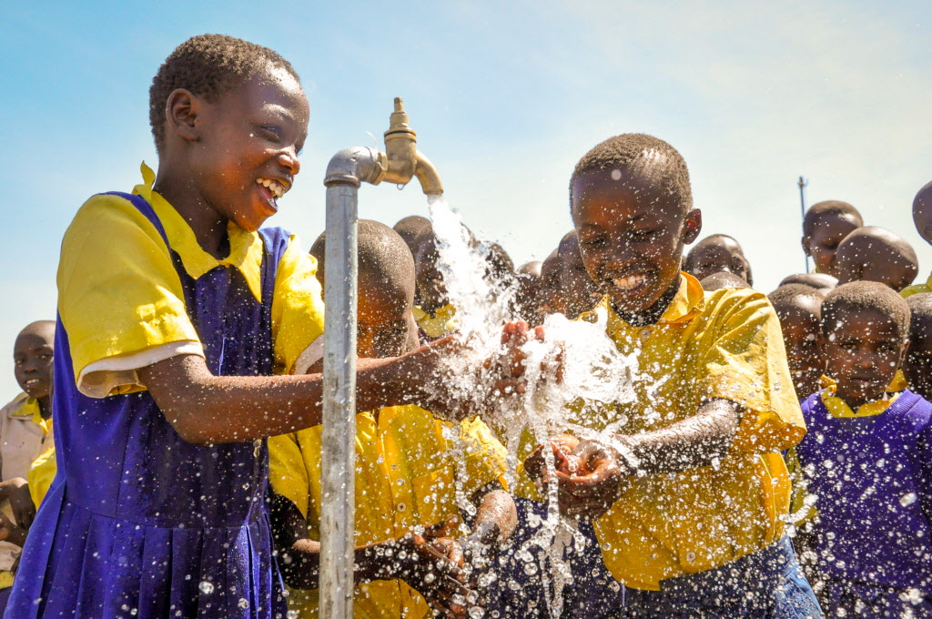 Just $1.10 a day… - Provides clean water, food, and education for one child for one year.