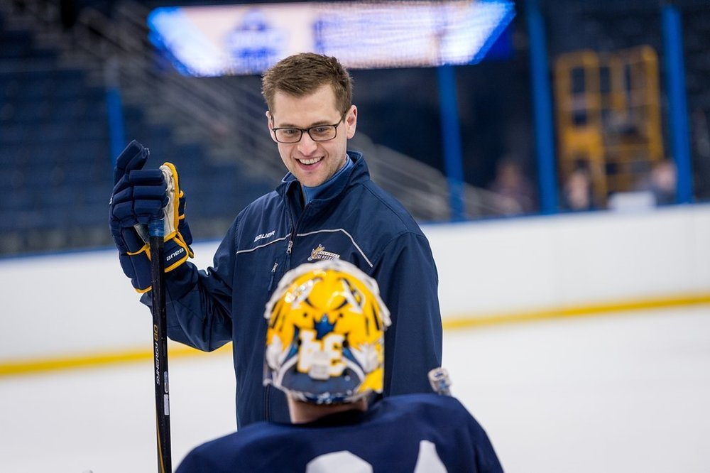 """- """"Each summer we have a sleep away summer camp for higher end goaltenders ages 16+. There are 16 goalies skating a combined 160 hours between all the goalies. We utilize RPR each day. During the two camps we have experienced ZERO groin or lower body issues. This is nothing short of amazing!""""- Jared Waimon, Assistant Hockey Coach @ Quinnipiac University, Founder @ Pro Crease Goaltending"""