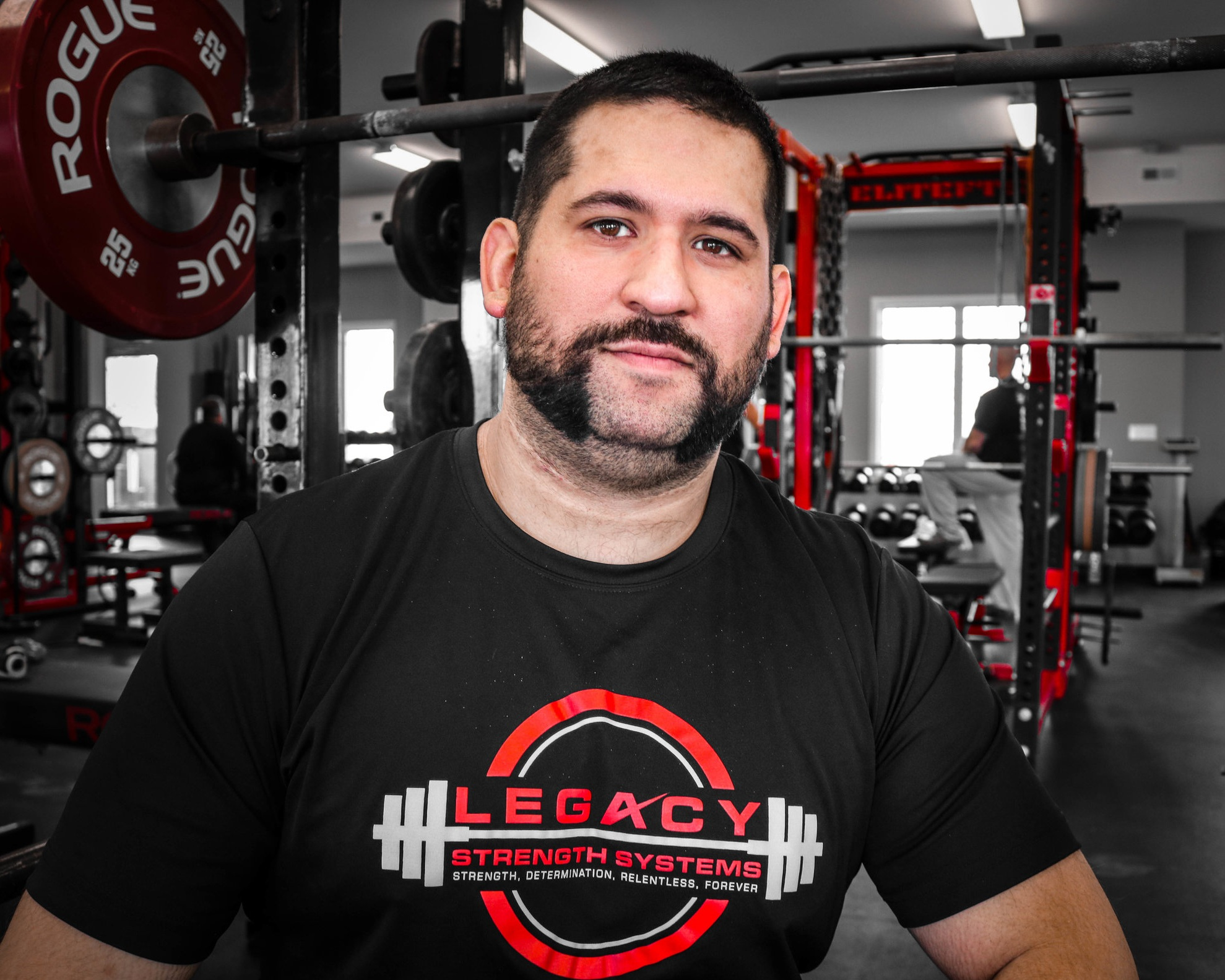 """- """"RPR is the greatest discovery we've had in long time. I have been certified Level 1 and 2 and have seen some pretty amazing things; from increased broad jumps, to faster swim times, to better bowel function (no joke).""""- Pete Arroyo, Owner @ Legacy Strength Systems, Aurora, Illinois"""