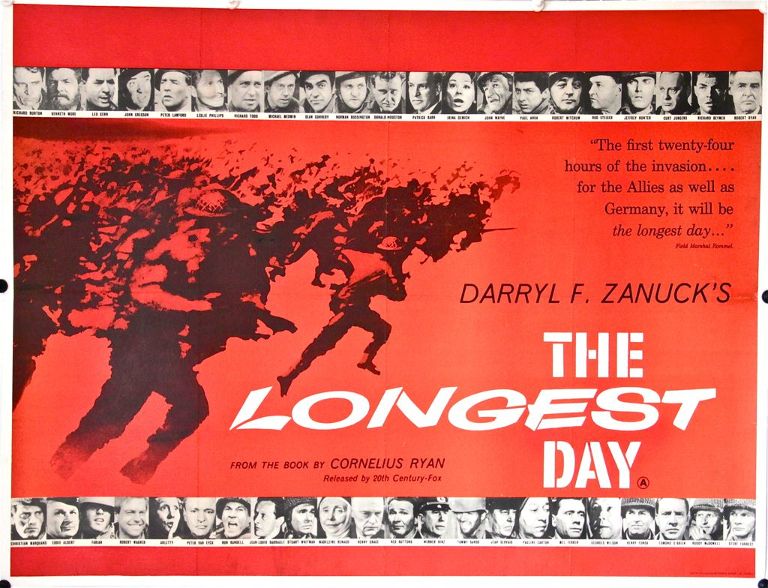 THE LONGEST DAY (1962) | Source:  Hollywoodland