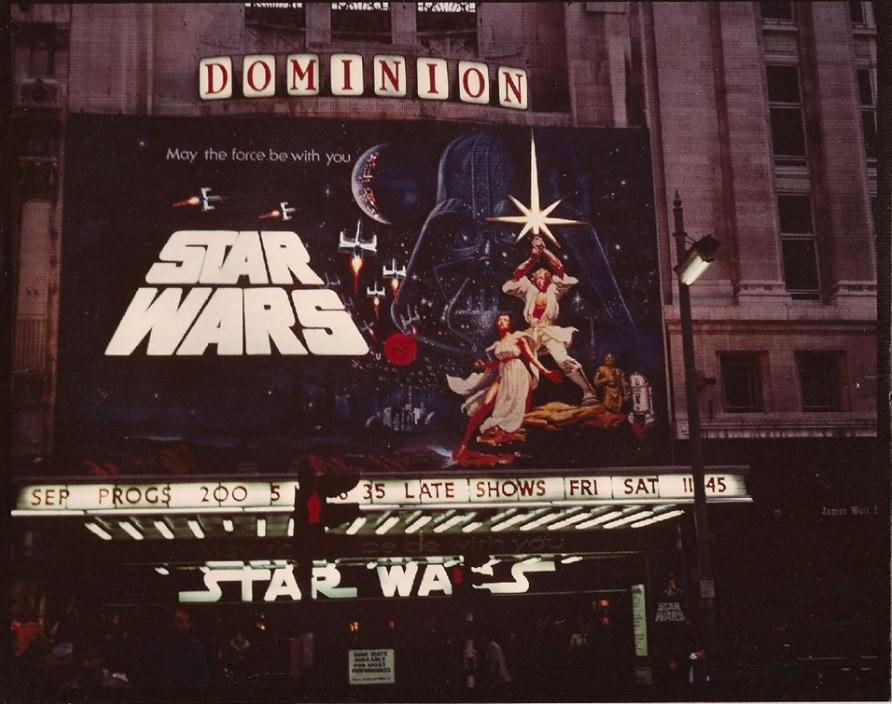 Star Wars  at the Dominion, London - via Killer Star Wars