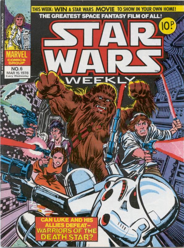 Marvel  Star Wars Weekly  No. 6