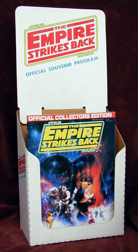 Empire Strikes Back  Official Collectors Edition Display Bin - From the Collection of Pete Vilmur