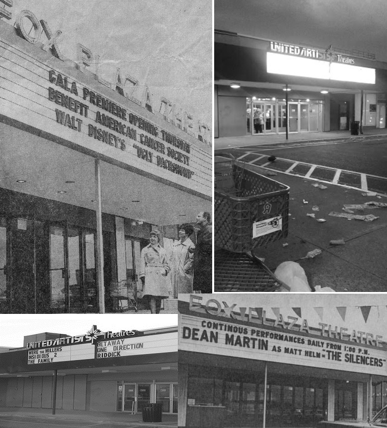 Fox Plaza Theatre - Via CinemaTreasures.org