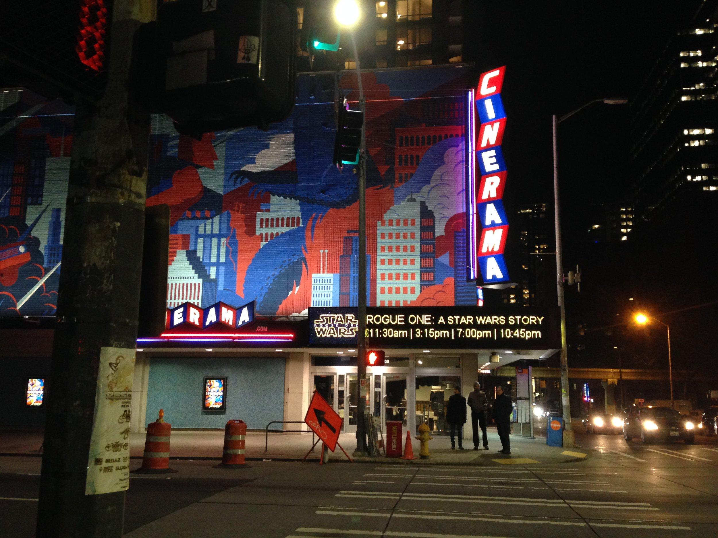 Cinerama - Seattle, WA - Photo Credit: Amy Sjoberg