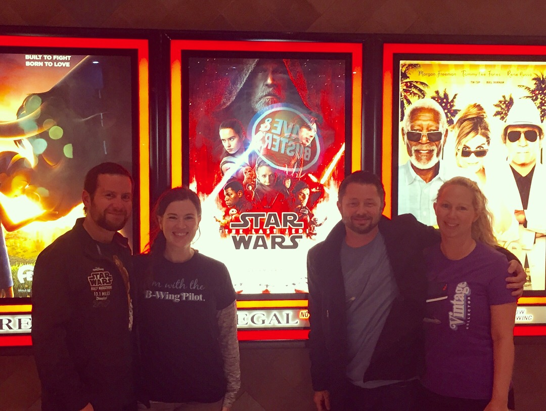 The Last Jedi  first post-screening daze at the Opry Mills Regal Cinema