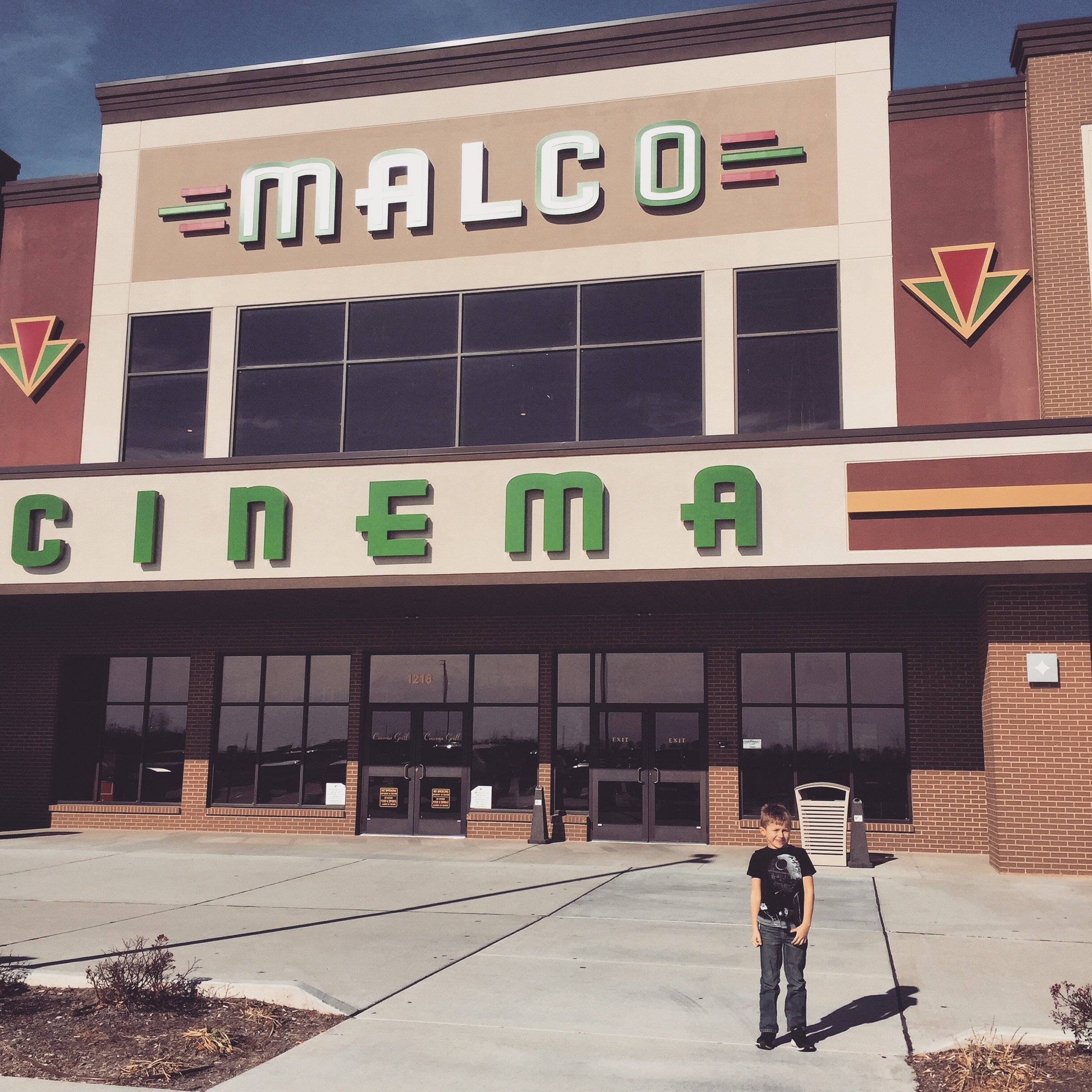 A young Bronx Walker following his first viewing of  The Last Jedi  at the Malco Cinema in Sikeston, MO