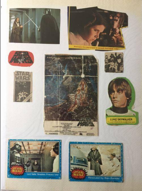Zia Rezvi's  Star Wars  Scrapbook