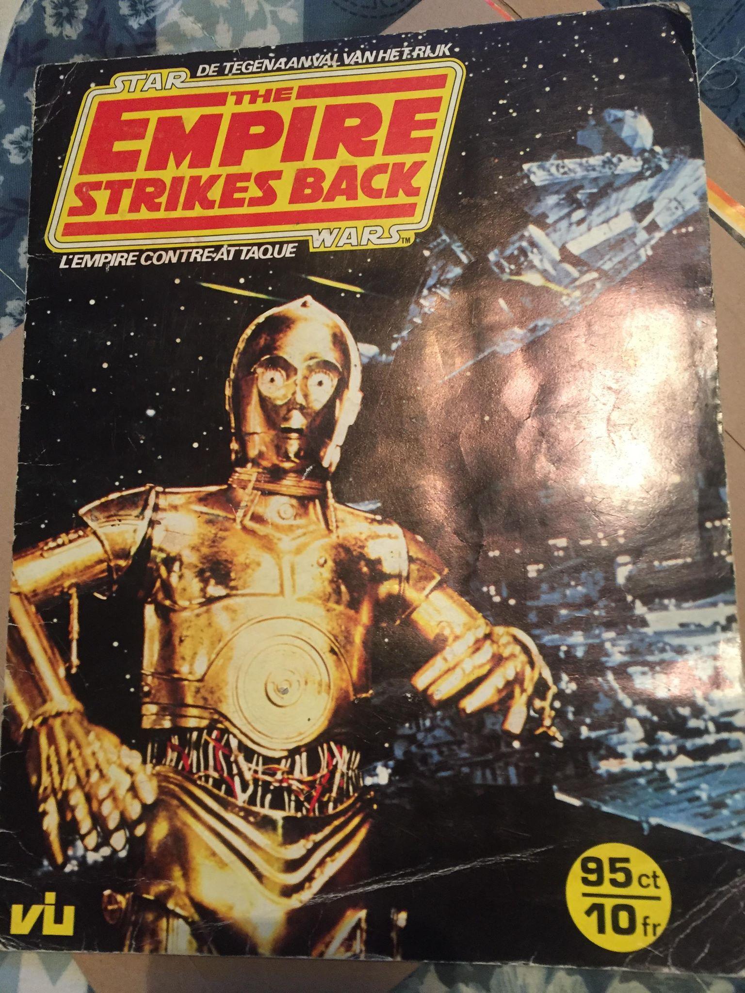 Zia Rezvi's  Empire Strikes Back  Sticker Album