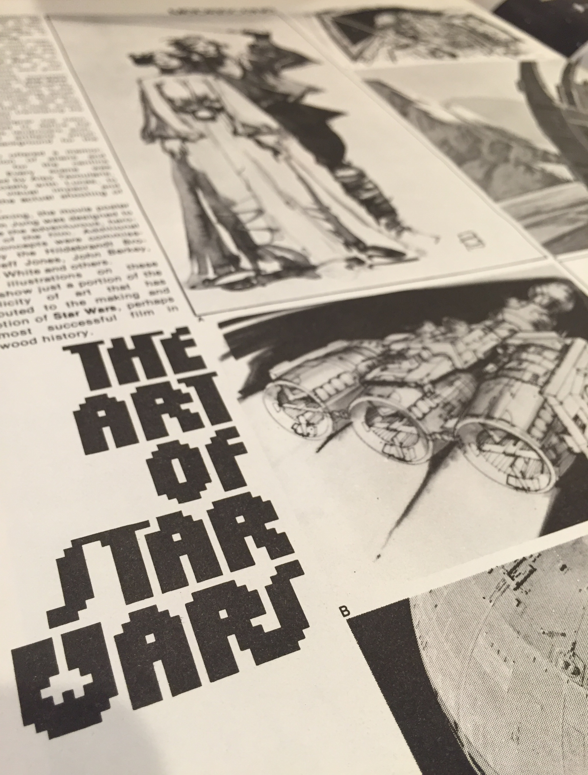 "The July-August 1977 Issue's 2nd Feature: ""The Art of Star Wars: A Previously Unpublished Portfolio"""
