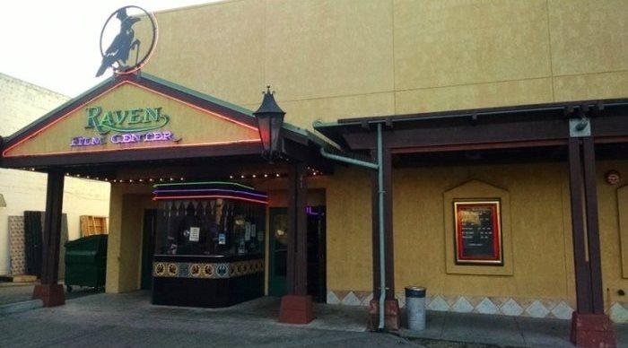 The Raven Film Center in Healdsburg, CA - via CinemaTreasures.org