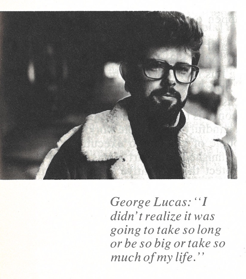 Reminder: this lament dates  prior  to  Star Wars  ever hitting the screen and the public's eyes /ears. Poor George.