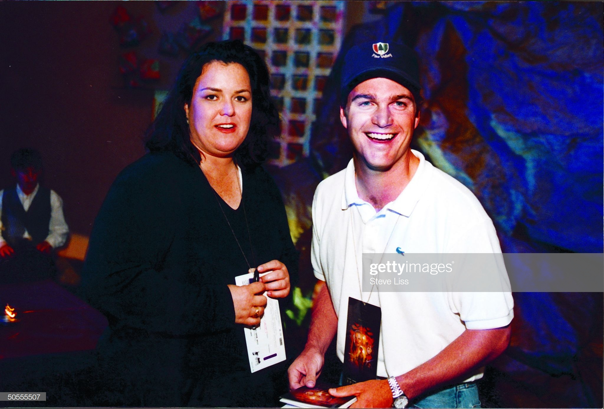 Always two there are… Rosie and actor Chris O'Donnell at the Chicago Charity Premiere - Source:  Getty Images