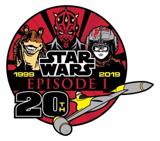 "20th Anniversary Logo designed by ""The Episode I Guy"" Manoah Crane"