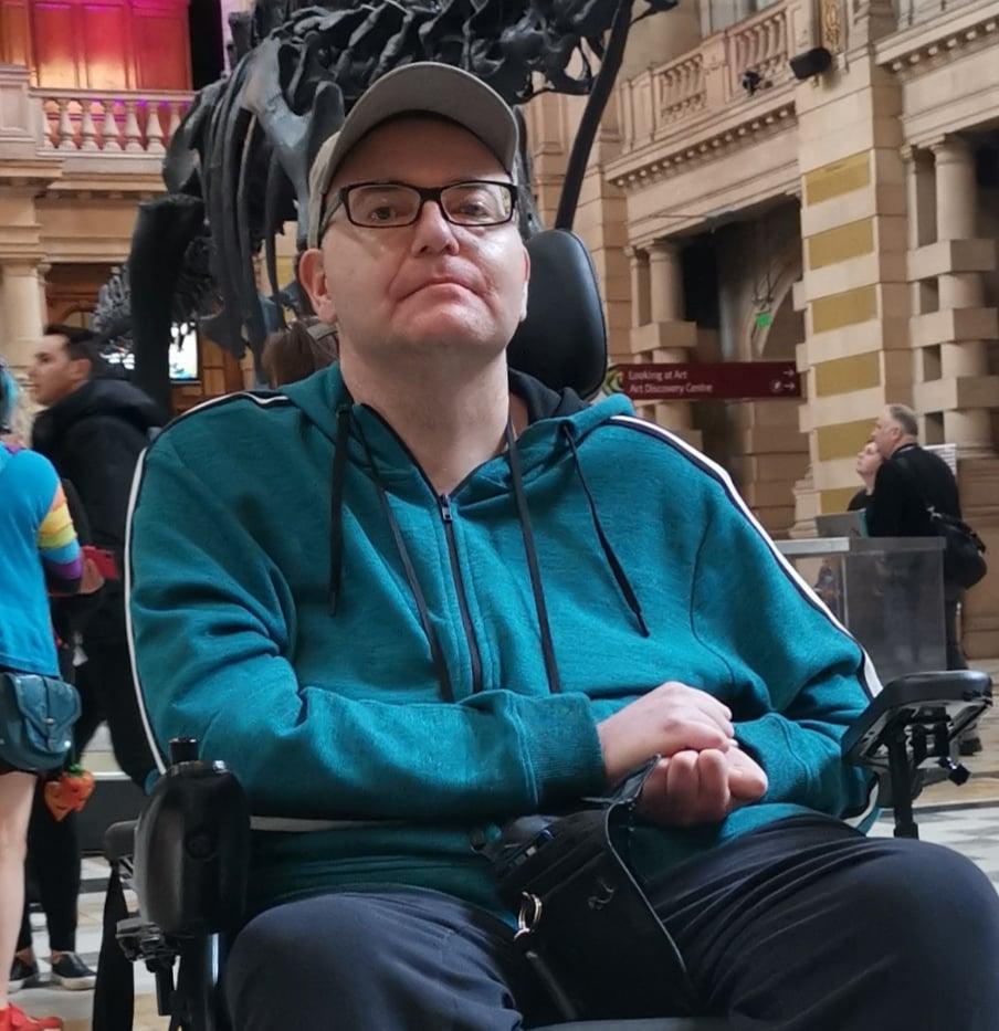 Declan McAfferty from Glasgow, Scotland