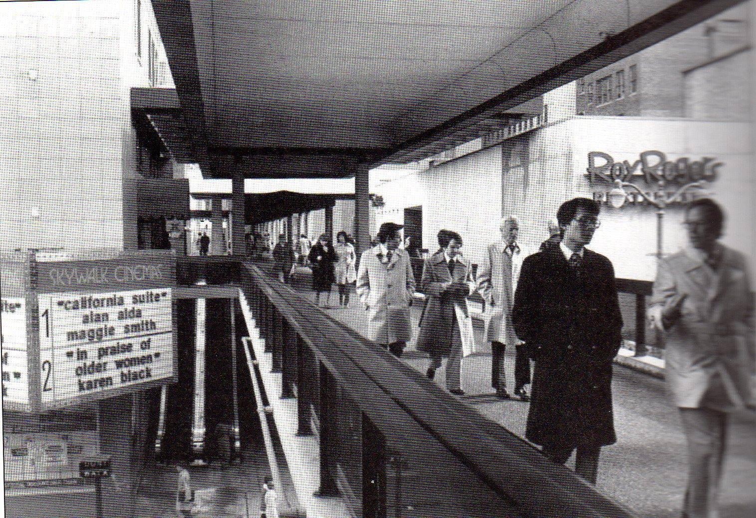 Skywalk Cinemas in Cincinnati, OH - via Ron Zig, Cincinnati Nostalgia Facebook Group