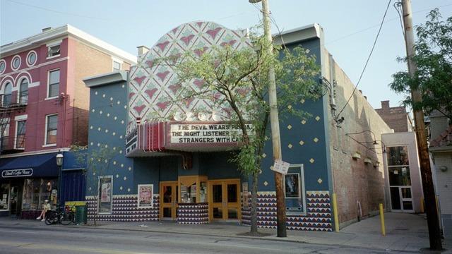 The Esquire Theatre in Clifton (Cincinnati, OH) - via CinemaTreasures.org